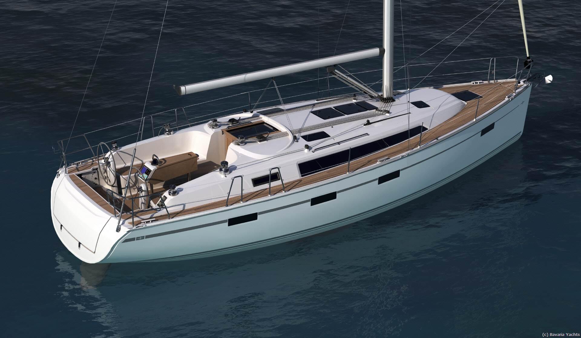 Auszeit auf der Yacht Bavaria Cruiser 41 / © bavaria-yachtbau.com