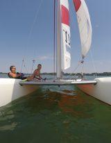 Preise segeln am Ammersee eines Katamaran / © coach2sail.com