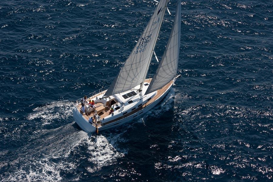 Der aktive Teil der Coaching Woche - Bavaria Cruiser 46 / © bavaria-yachtbau.com